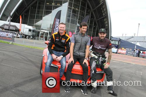 Mark Webber and Shane Lynch 5