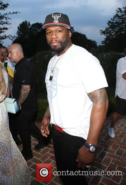 50 Cent snapped at a 2016 charity benefit