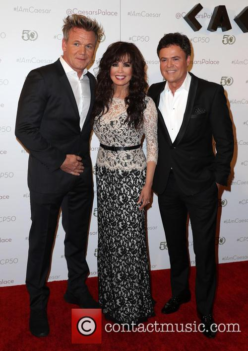 Gordon Ramsay, Marie Osmond and Donny Osmond 1