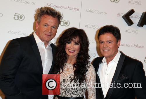 Gordon Ramsay, Marie Osmond and Donny Osmond 3