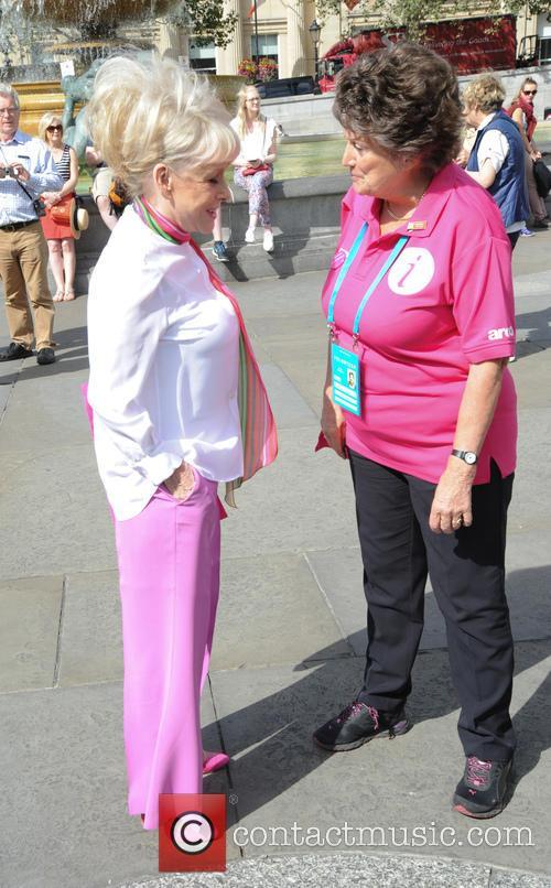 Barbara Windsor and Barbra Windosr 1