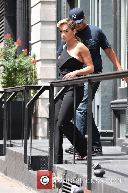 Rita Ora leaves her apartment in Manhattan, New...