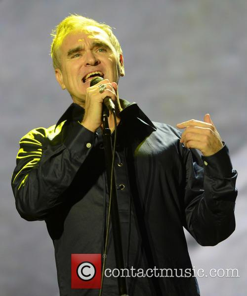 Morrissey performing live