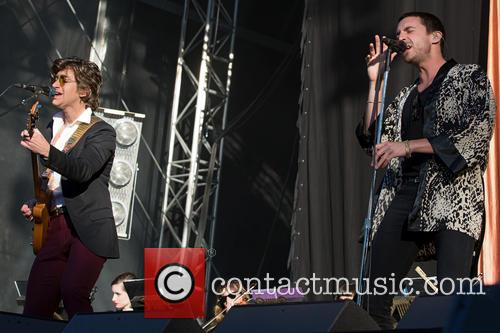 The Last Shadow Puppets, Alexander Turner and Miles Kane 7