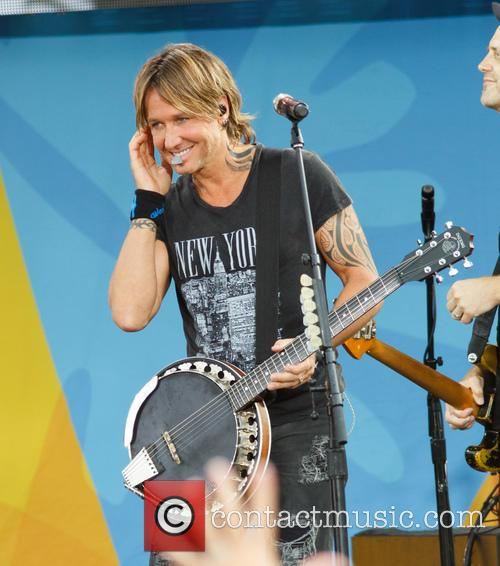 Keith Urban performs on ABC's 'Good Morning America'...