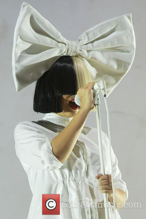 Sia performing at Way Out West Festival