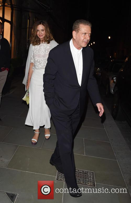 Trinny Woodall and Charles Saatchi 10