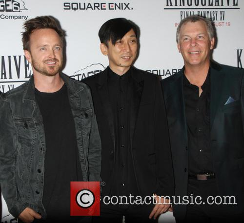 Aaron Paul, Takeshi Nozue and John Graham 9