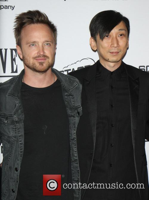 Aaron Paul and Takeshi Nozue 11