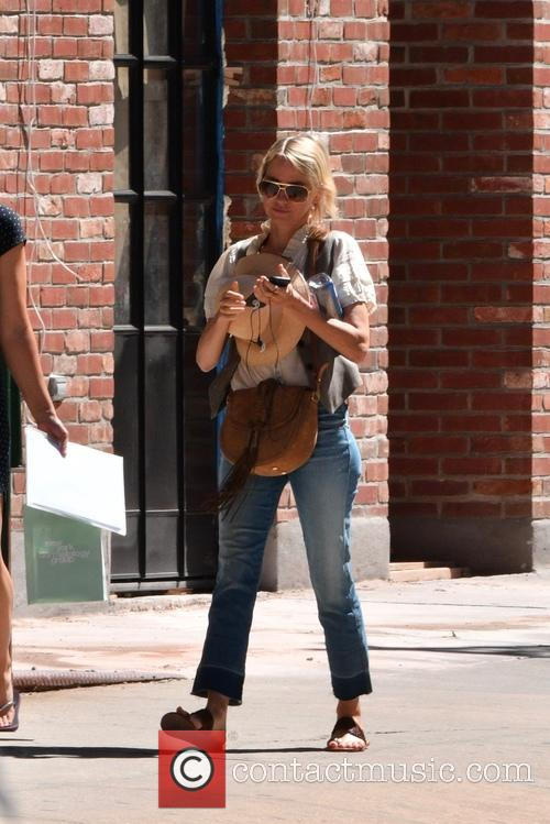 Naomi Watts out and about in TriBeCa