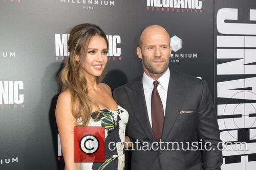 Jessica Alba and Jason Statham 2