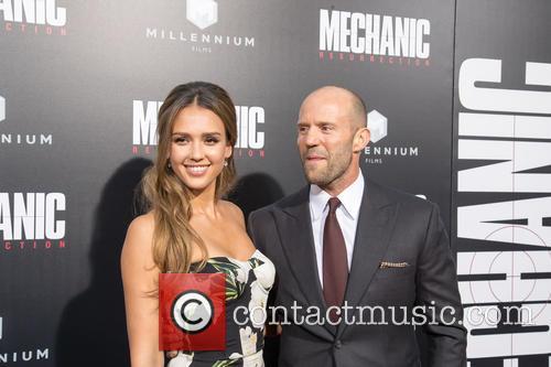 Jessica Alba and Jason Statham 3