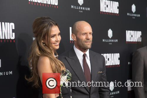 Jessica Alba and Jason Statham 4