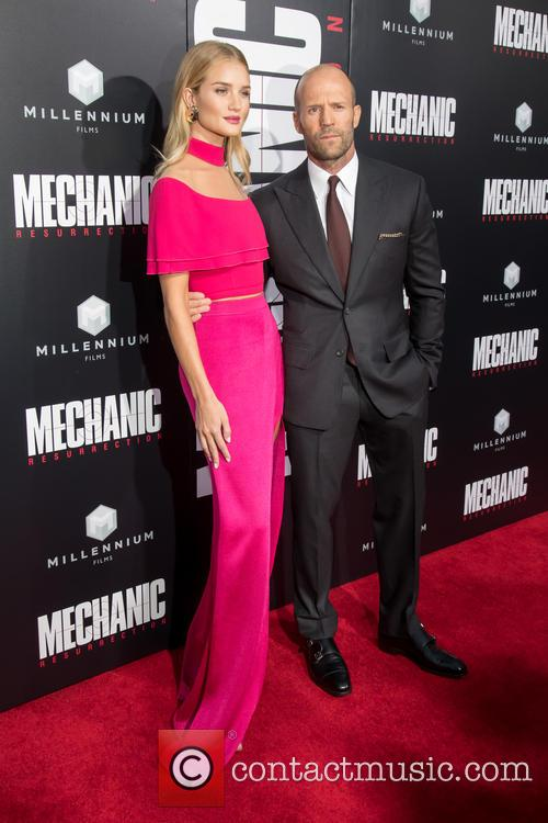 Rosie Huntington-whiteley and Jason Statham 5