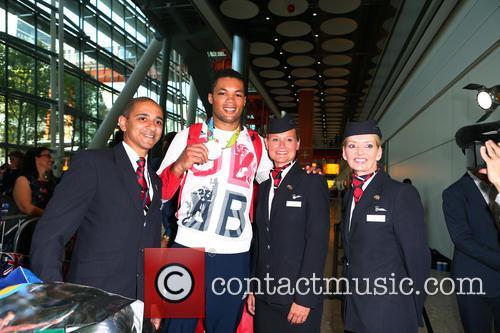Team GB return from Rio