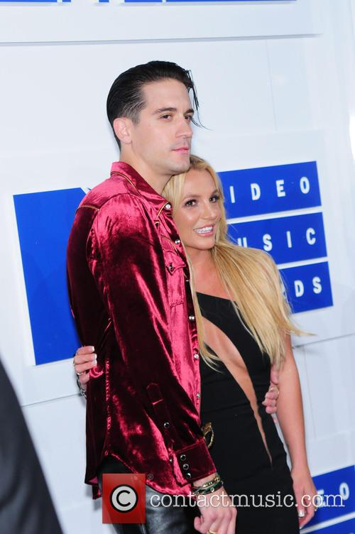 G-eazy and Britney Spears 1