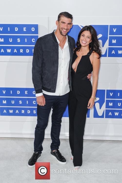 Michael Phelps and Nicole Johnson