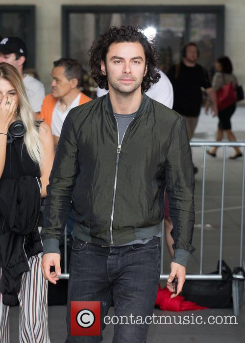 'Poldark' Star Aidan Turner Says He Doesn't Feel 'Objectified' By Shirtless Scenes