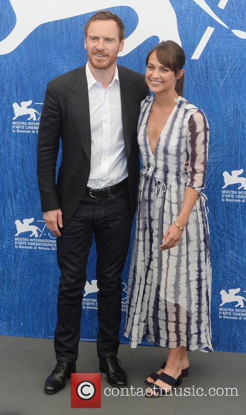 Michael Fassbender and Alicia Vikander 3