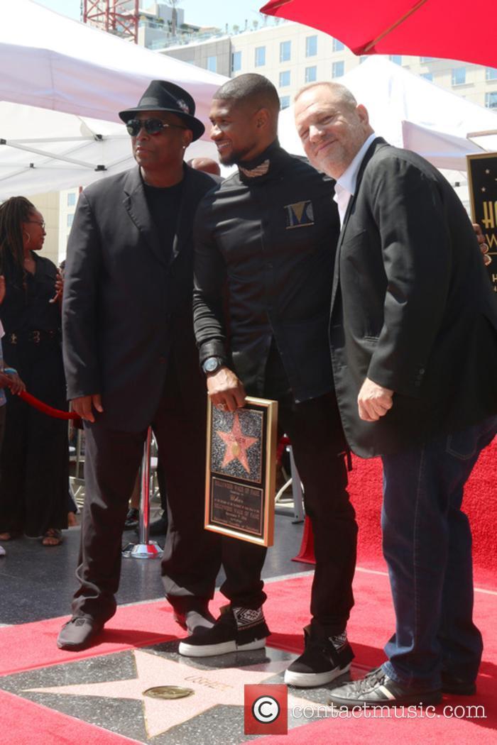 Terry Lewis, Aka Jimmy Jam, Usher Raymond and Harvey Weinstein 3