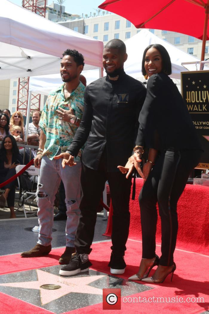 Miguel, Usher Raymond and Kelly Rowland