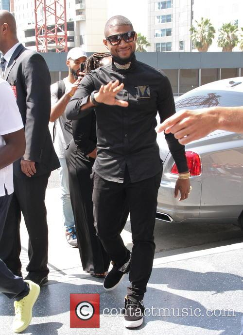 Usher receives a 'Star' on the Hollywood Walk...