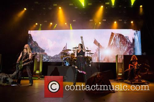 Nightwish, Floor Jansen, Marco Hietala and Troy Donockley