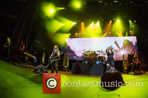 Nightwish, Floor Jansen, Marco Hietala, Tuomas Holopainen, Troy Donockley, Jukka Nevalainen and Emppu Vuorinen 6