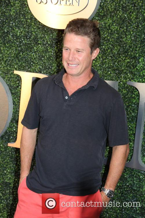 Billy Bush at the 2016 Tennis US Open