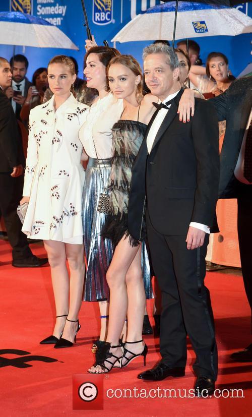 Natalie Portman, Rebecca Zlotowski, Lily-rose Depp and Emmanuel Salinger 2