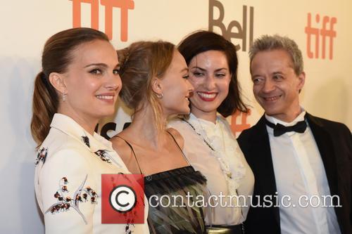 Natalie Portman, Lily-rose Depp, Rebecca Zlotowski and Emmanuel Salinger 6