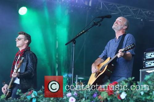Travis, Dougie Payne and Fran Healy
