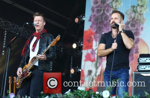 Travis, Dougie Payne and Alfie Boe 3