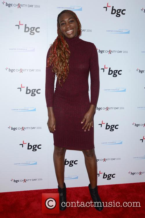 Venus Williams snapped at a charity event
