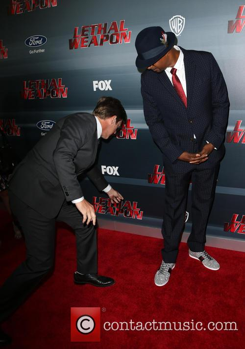 Kevin Rahm, Damon Wayans and Jr. 1