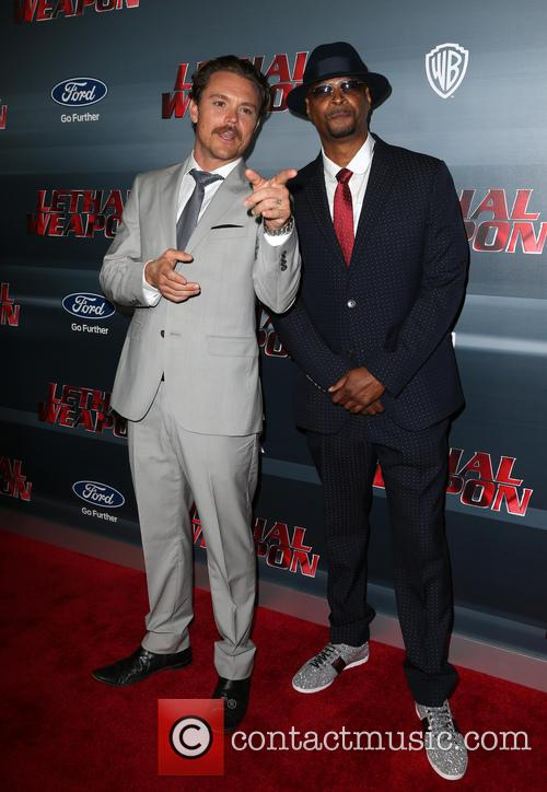 Clayne Crawford, Damon Wayans and Jr. 7