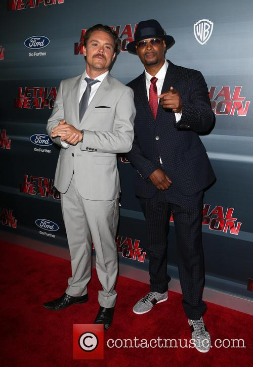 Clayne Crawford, Damon Wayans and Jr. 9