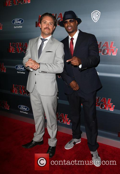 Clayne Crawford, Damon Wayans and Jr. 10