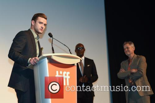 Justin Timberlake, Jonathan Demme and Cameron Bailey 10