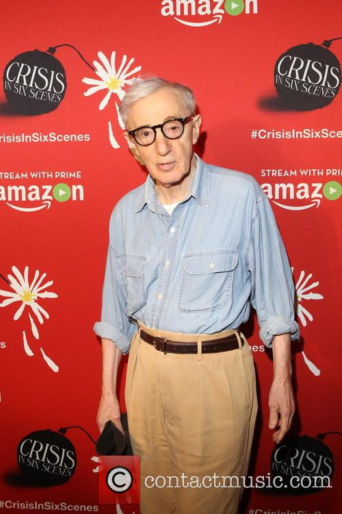 Woody Allen at the premiere for 'Crisis In Six Scenes'