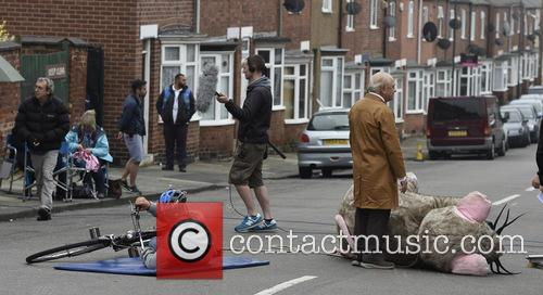 Open All Hours Filming