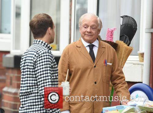 Sir David Jason and James Baxter