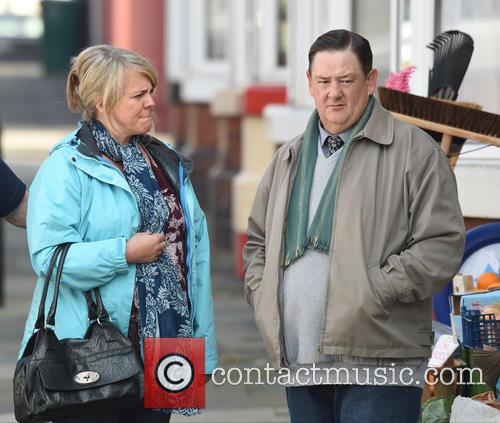 Sally Lindsey and Johnny Vegas 5