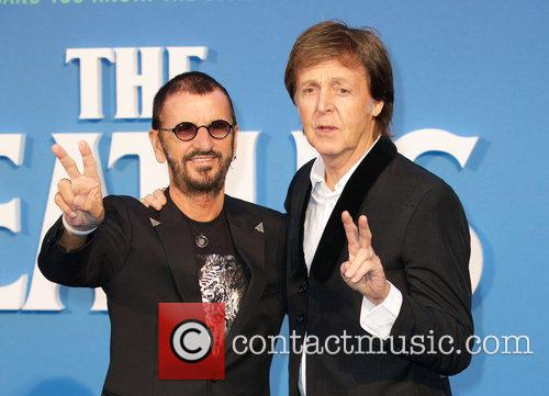 Ringo Starr and Paul Mccartney 1