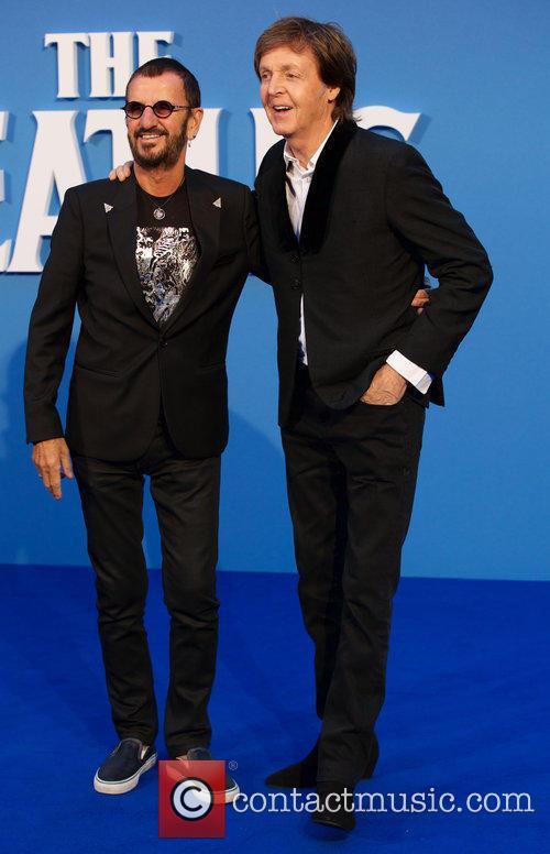 Ringo Starr and Paul Mccartney 6
