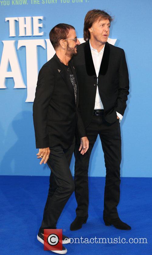 Ringo Starr and Paul Mccartney 7