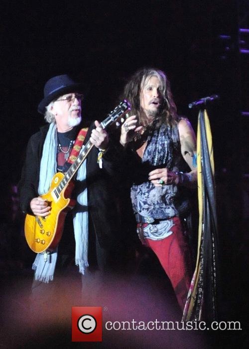 Aerosmith, Brad Whitford and Steven Tyler 1