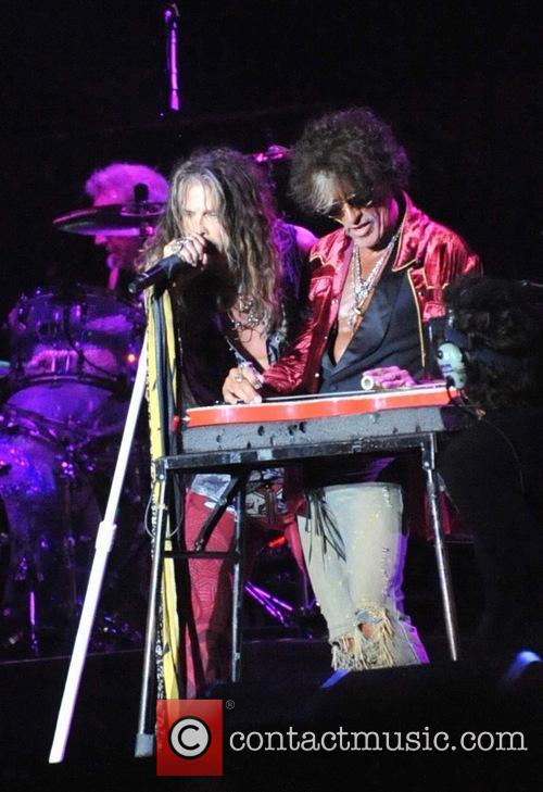 Aerosmith, Steven Tyler and Joe Perry 2