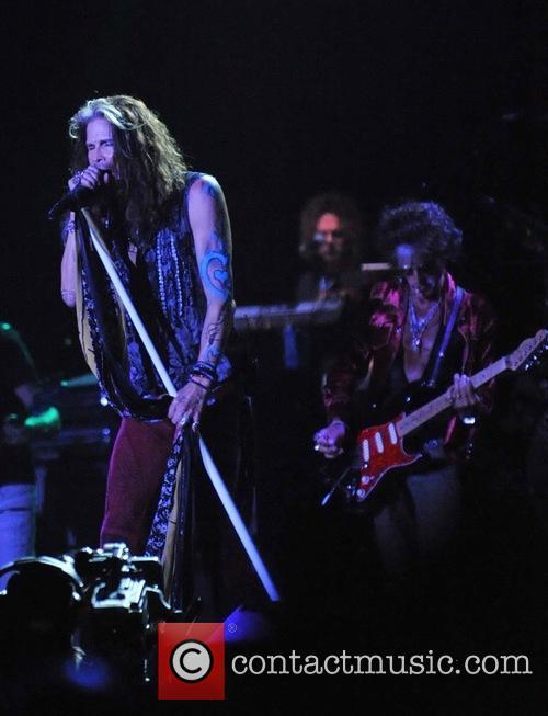 Steven Tyler, Joe Perry and Aerosmith 4
