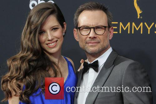 Christian Slater and Brittany Lopez 2